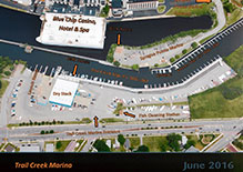 Trail Creek Marina Map
